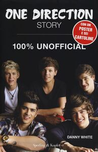 Libro One Direction Story. 100% unofficial. Con poster Danny White