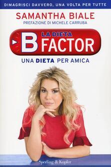 Vitalitart.it La dieta B factor. Una dieta per amica Image