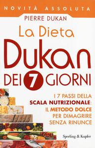 Libro La dieta Dukan dei 7 giorni Pierre Dukan