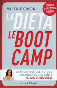 Foto Cover di La dieta LeBootCamp, Libro di Valérie Orsoni, edito da Sperling & Kupfer