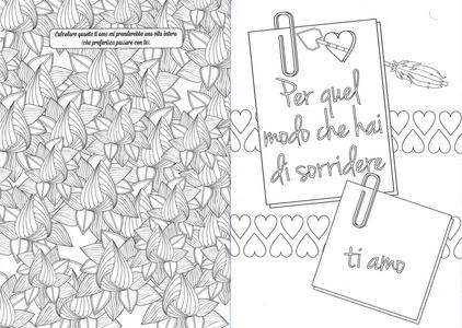 Libro Colora per dire ti amo Lisa Magano 1