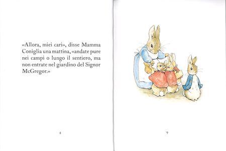 Foto Cover di Il racconto di Peter Coniglio, Libro di Beatrix Potter, edito da Sperling & Kupfer 1
