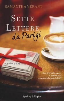 Antondemarirreguera.es Sette lettere da Parigi Image
