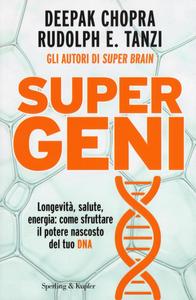 Libro Super geni Deepak Chopra , Rudolph E. Tanzi