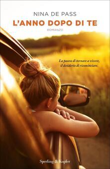 L' anno dopo di te - Nina de Pass - copertina