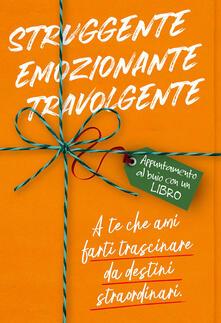 Fondazionesergioperlamusica.it Struggente, emozionante, travolgente. Appuntamento al buio con un libro Image