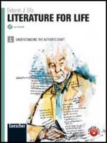 Premioquesti.it Literature for life. Per le Scuole superiori. Con espansione online. Vol. 1 Image