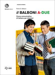 Voluntariadobaleares2014.es Il Balboni. Corso comunicativo di italiano per stranieri. Livello A2 Image