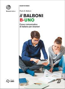 Daddyswing.es Il Balboni. Corso comunicativo di italiano per stranieri. Livello A1-B2 Image