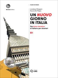 Daddyswing.es Un nuovo giorno in Italia. Percorso narrativo di italiano per stranieri. Livello B1 Image