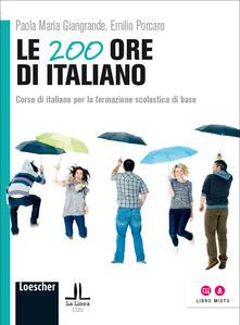 Promoartpalermo.it Le 200 ore di italiano. Corso di italiano per la formazione scolastica di base Image