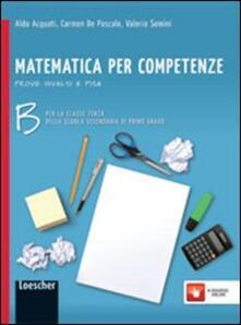 Filmarelalterita.it Matematica per competenze. Con prove INVALSI e PISA. Per la Scuola media. Con espansione online. Vol. 2 Image