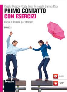 Cocktaillab.it Primo contatto. Corso di italiano per stranieri. Livello A1. Esercizi. Con CD Audio Image
