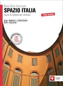 Winniearcher.com Spazio Italia. Corso di italiano per stranieri. Per le Scuole superiori. Con espansione online. Vol. 4 Image
