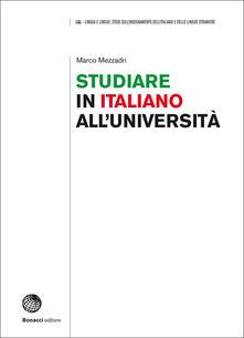 Winniearcher.com Studiare in italiano all'università. Prospettive e strumenti Image