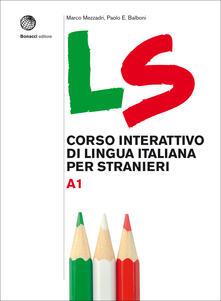 Camfeed.it LS. Corso interattivo di lingua italiana per stranieri. A1 Image