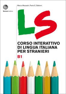 Antondemarirreguera.es LS. Corso interattivo di lingua italiana per stranieri. B1 Image