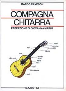 Libro Compagna chitarra Marco Cavedon