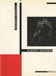 Libro Alberto Sartoris. Novanta gioielli. Catalogo della mostra (Torino, 1992)
