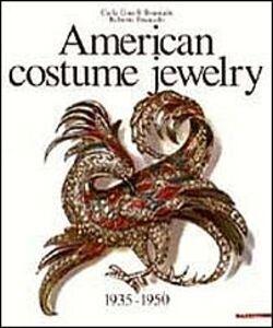 Libro American costume jewelry (1935-1950) Carla Ginelli Brunialti , Roberto Brunialti