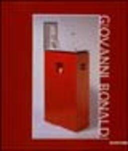 Libro Giovanni Bonaldi. Il peso non dorme
