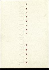 Laboratory di Mimmo Paladino. Catalogo della mostra (Praga, 19 ottobre-16 novembre 2000). Ediz. italiana e ceca