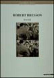 Libro Robert Bresson. Eloge