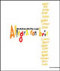 Libro Allegra con brio. Arte italiana dal pop a oggi Walter Guadagnini