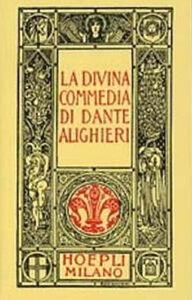 Libro Dante minuscolo hoepliano. La Divina Commedia Dante Alighieri