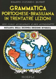 Libro Grammatica elementare portoghese-brasiliana Erasmo J. Bughÿ