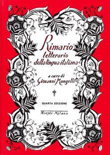 Fondazionesergioperlamusica.it Rimario letterario della lingua italiana Image