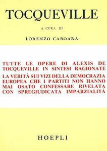 Libro Democrazia e libertà Alexis de Tocqueville