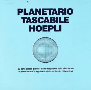 Libro Planetario tascabile Hoepli