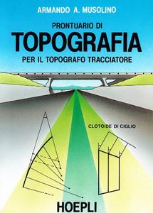 Libro Prontuario di topografia Armando A. Musolino