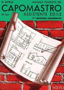 Secchiarapita.it Manuale completo del capomastro assistente edile Image