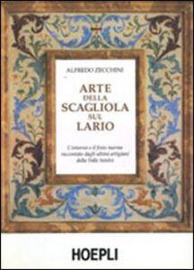 Libro Arte della scagliola sul Lario Alfredo Zecchini