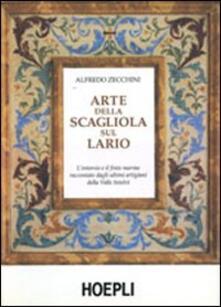 Arte della scagliola sul Lario - Alfredo Zecchini - copertina