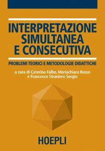 Libro Interpretazione simultanea e consecutiva