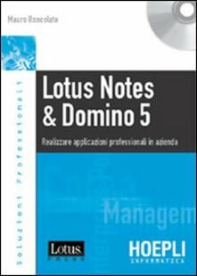 Lotus Notes & Domino 5. Con CD-ROM.pdf