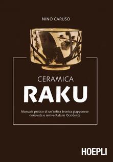 Ceramica Raku - Nino Caruso - copertina