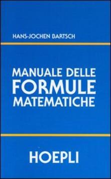 Voluntariadobaleares2014.es Manuale delle formule matematiche Image