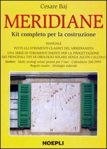 Ristorantezintonio.it Meridiane. Kit completo per la costruzione Image