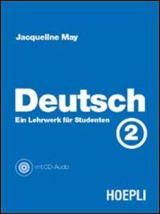 Libro Deutsch. Vol. 2: Ein Lehrwerk fur Studenten. Jacqueline May