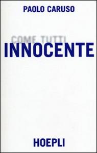Libro Innocente Paolo Caruso