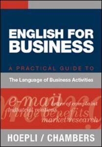 Libro English for business