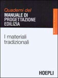 Libro I materiali tradizionali