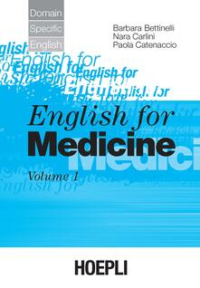 Radiospeed.it English for medicine. Vol. 1 Image