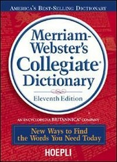 Merriam-Webster's Collegiate Dictionary. With CD-ROM