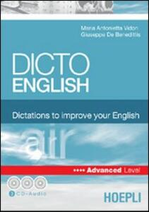 Dicto english. Dictations to improve your English. Air. Advanced level. Con 3 CD Audio