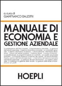Libro Manuale di economia e gestione aziendale